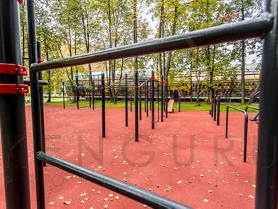 Parcours sportifs de plein air Kenguru Pro