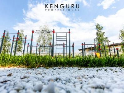 Plusieurs pratiques sur le même terrain Kenguru Pro