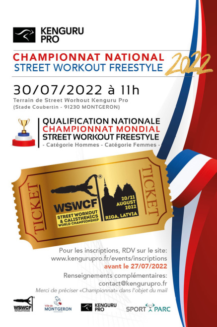 Championnat National Street Workout Kenguru Pro